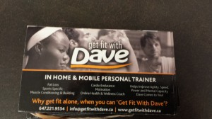 A Personal trainer's way of promoting, although still a magnet!