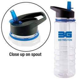 BPA free water bottle great for summer
