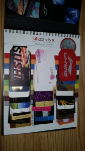 32pt layered silk cards