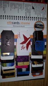 48pt Layered Silk cards