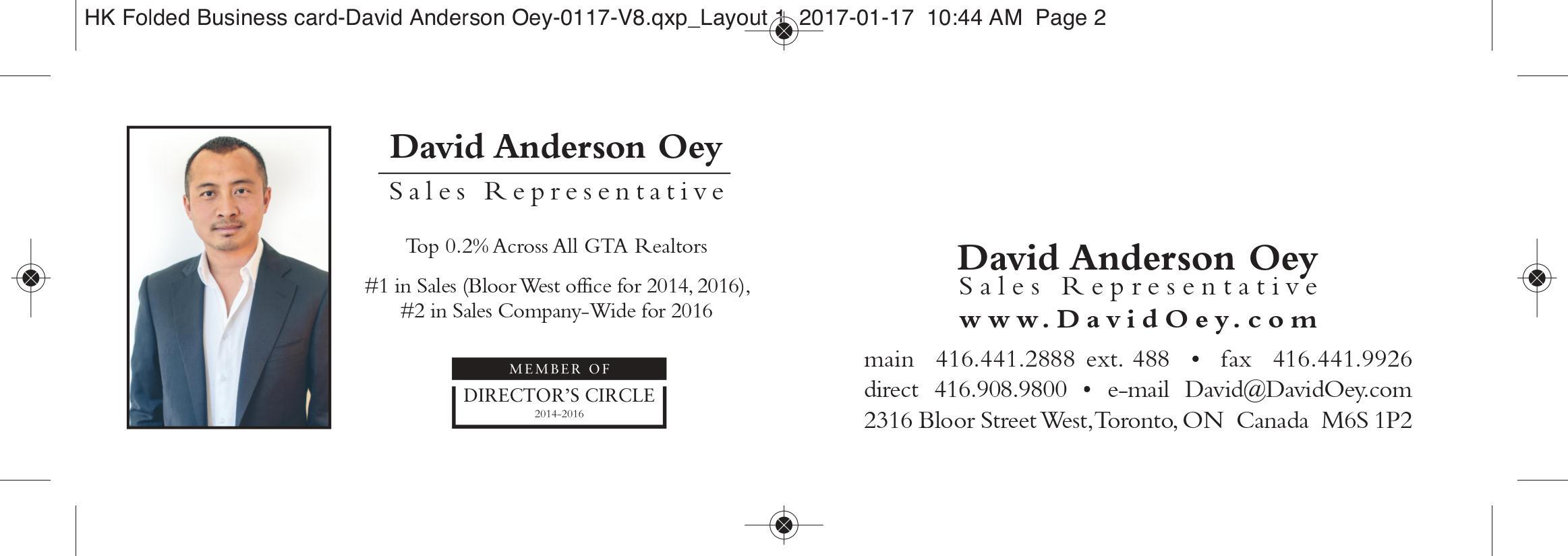 Harvey Kalles Business Card Layout | JR Shooter